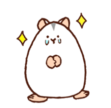 Very cute hamster stickers sticker #10034002