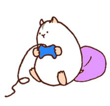 Very cute hamster stickers sticker #10034003