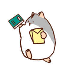 Very cute hamster stickers sticker #10034005