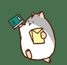 Very cute hamster stickers sticker #10034005