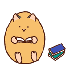 Very cute hamster stickers sticker #10034006