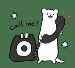 BELLE the WEASEL -Itachi No Belle- sticker #10036535