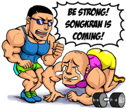 Songkran Drama sticker #10037690