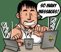 Songkran Drama sticker #10037719