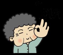 Chinese Grandma sticker #10046369