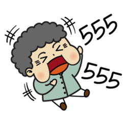 Chinese Grandma sticker #10046373