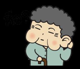 Chinese Grandma By Leela Valley Sticker 10046378