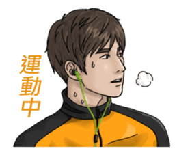 Handsome Sportsmen sticker #10049537