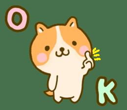 dog kawaii 4 sticker #10059329