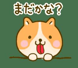 dog kawaii 4 sticker #10059330