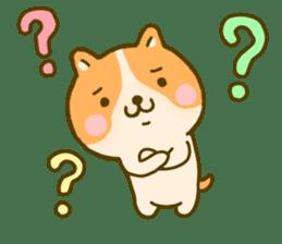 dog kawaii 4 sticker #10059335
