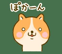 dog kawaii 4 sticker #10059336