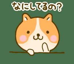 dog kawaii 4 sticker #10059354