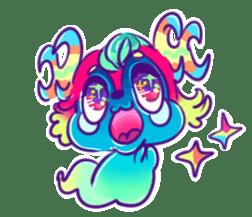 cute tunotuno sticker #10060490