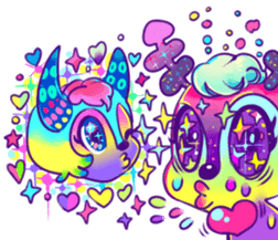 cute tunotuno sticker #10060497