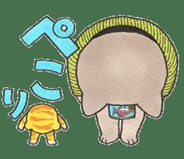 Yomawari Neko sticker #10071068