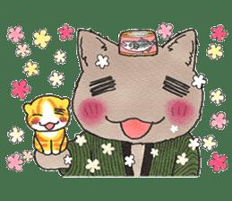Yomawari Neko sticker #10071080