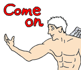 Archangel Johnson sticker #10076427