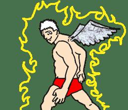 Archangel Johnson sticker #10076437