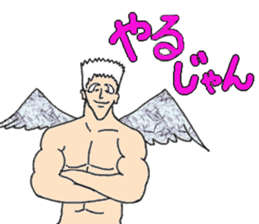 Archangel Johnson sticker #10076439
