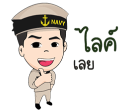 Navy Racha sticker #10077292