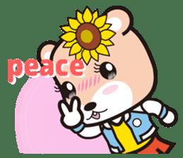 Cute Hamukorin[2] sticker #10080097