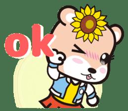 Cute Hamukorin[2] sticker #10080100