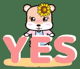 Cute Hamukorin[2] sticker #10080106
