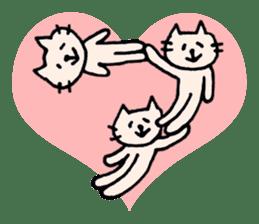 Thankyou sticker by cat sticker #10087452