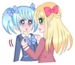 Best couple Rika & Seira sticker #10091636