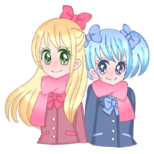 Best couple Rika & Seira sticker #10091637