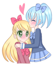 Best couple Rika & Seira sticker #10091644