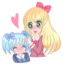 Best couple Rika & Seira sticker #10091645