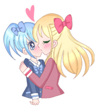 Best couple Rika & Seira sticker #10091647