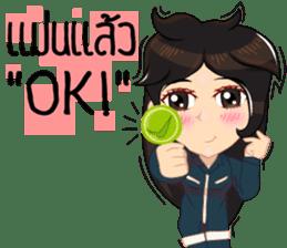 Cartoon Isan thailand V.tec Isan/Eng sticker #10095209