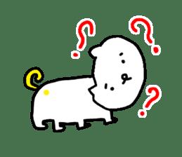 LOVE TO TALK!!EMOTIONAL ANIMALS 2 sticker #10098473