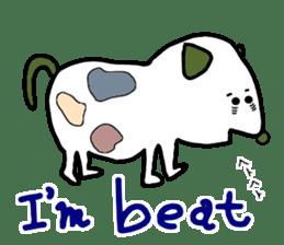 LOVE TO TALK!!EMOTIONAL ANIMALS 2 sticker #10098475