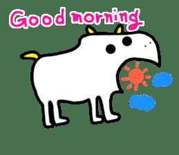 LOVE TO TALK!!EMOTIONAL ANIMALS 2 sticker #10098479