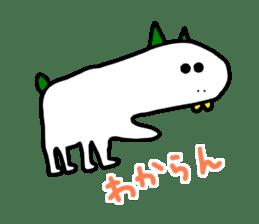 LOVE TO TALK!!EMOTIONAL ANIMALS 2 sticker #10098484