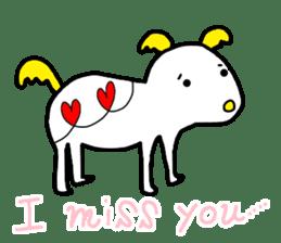 LOVE TO TALK!!EMOTIONAL ANIMALS 2 sticker #10098488