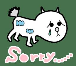 LOVE TO TALK!!EMOTIONAL ANIMALS 2 sticker #10098494