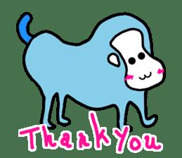 LOVE TO TALK!!EMOTIONAL ANIMALS 2 sticker #10098496