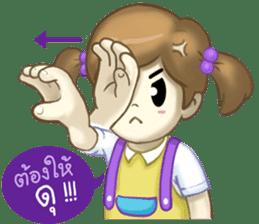Nong Sign & Finger : Hand for love sticker #10101614
