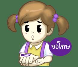 Nong Sign & Finger : Hand for love sticker #10101629