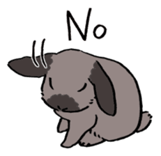 English Bunny 2 sticker #10103553