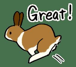 English Bunny 2 sticker #10103557