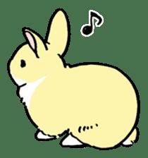 English Bunny 2 sticker #10103563