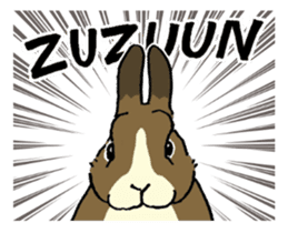 English Bunny 2 sticker #10103566