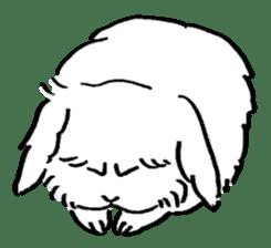 English Bunny 2 sticker #10103577