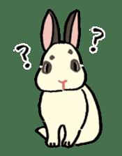 English Bunny 2 sticker #10103583